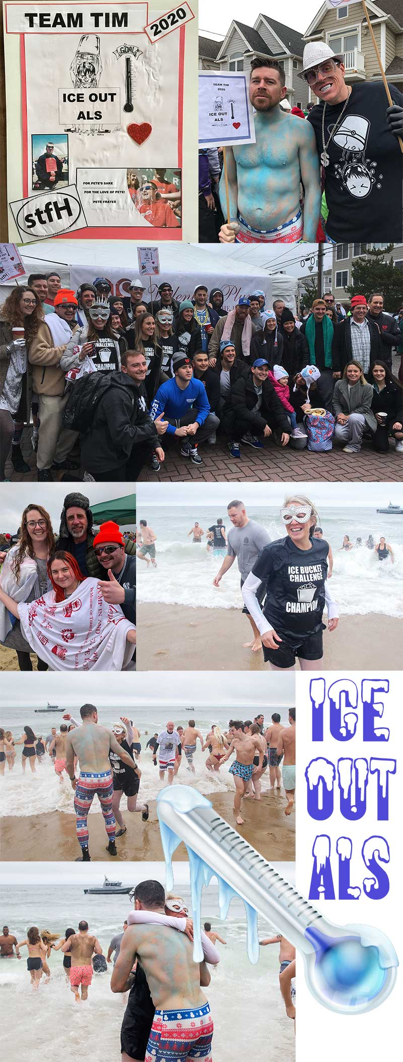 "2020 Valentines Plunge to ""Ice Out ALS"""